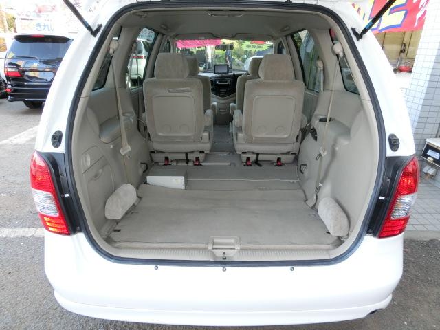 MPV中古車 荷室スペース