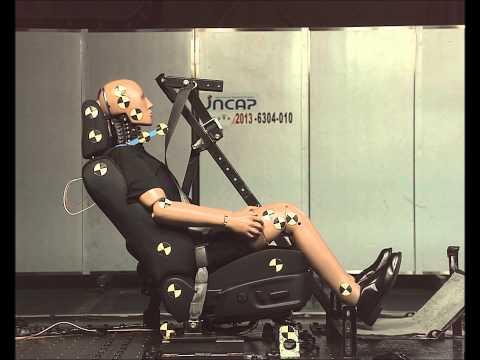 後面衝突頚部保護性能試験