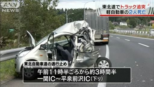 軽自動車追突事故
