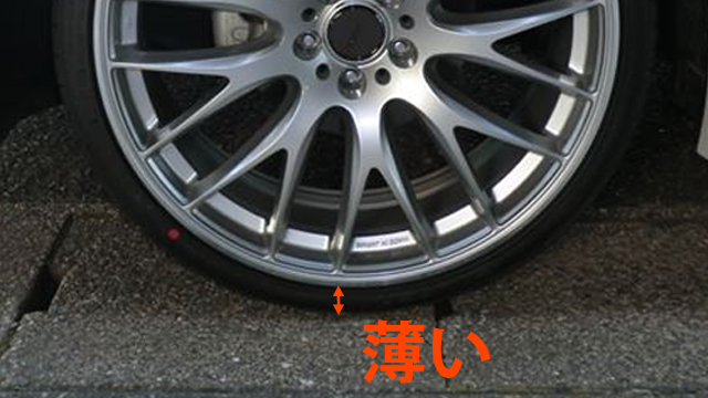 ミニバン かっこいい 超扁平タイヤ