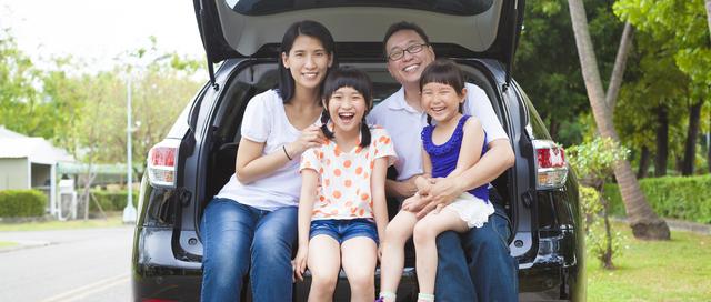 車検切れ 取り締まりシステム 家族イメージ